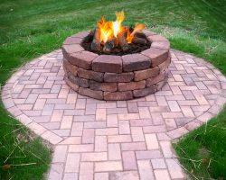 Fire pit fire